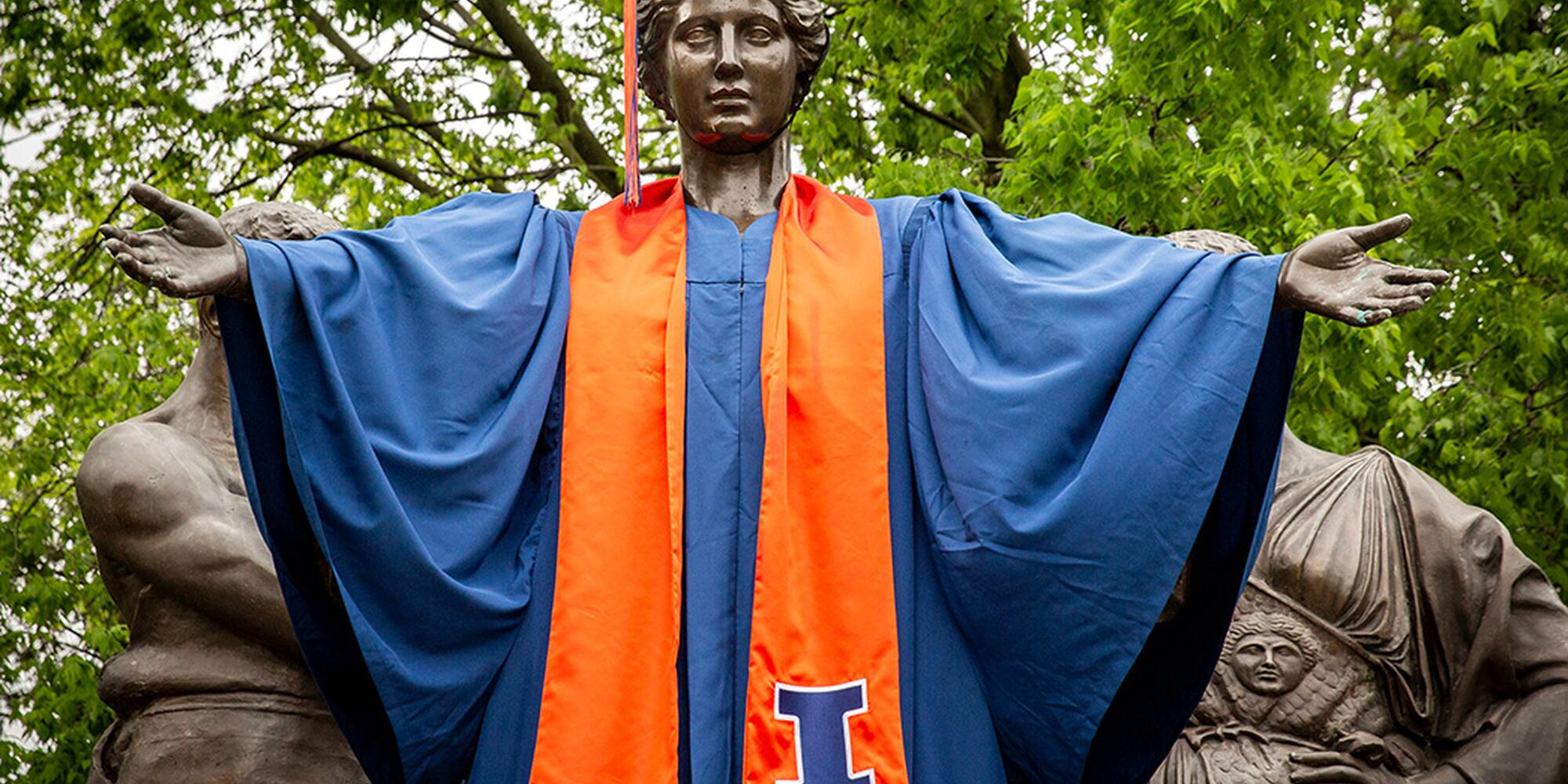 Alma in Cap and Gown